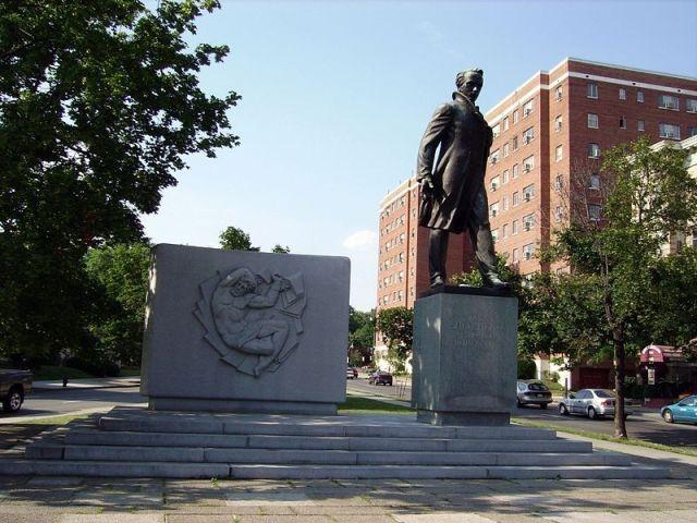 Пам'ятник Т.Г.Шевченку у Вашингтоні