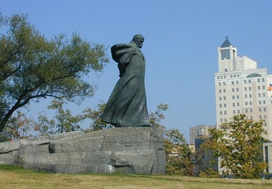 Пам'ятник Т.Г.Шевченку у Москві