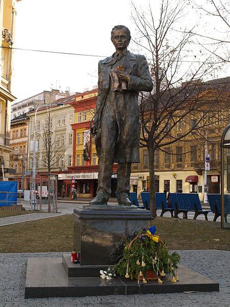 Пам'ятник Т.Г.Шевченку у Празі