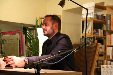 Jonas Lüscher eröffnete die Veranstaltungsreihe zum 5jährigen Bestehen der Lesbar