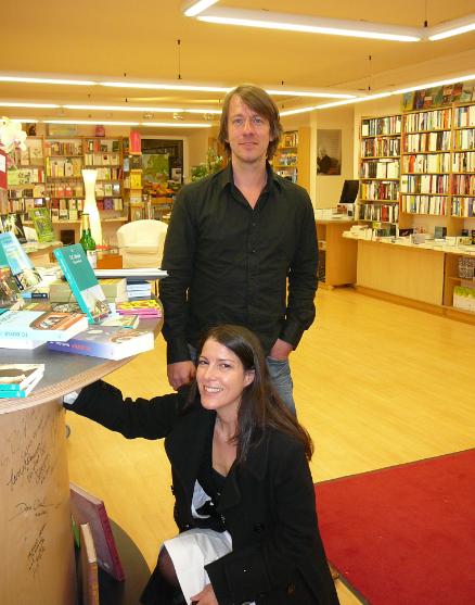 """Judith al-Bakri und Jochen Strodthoff brachten ihren """"American Dream"""" diesmal nicht schauspielerisch sondern literarisch in die Lesbar"""