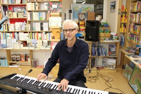 Der Pianist Andreas Hirche, die zweite Hälfte von Marinafon