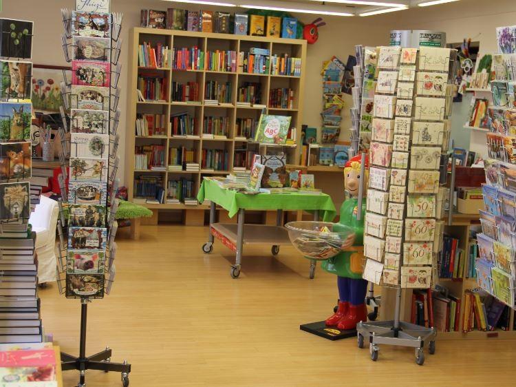 Die Kinderbuchabteilung - Nachher