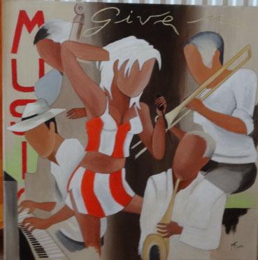 Les musiciens , offert mars 2012