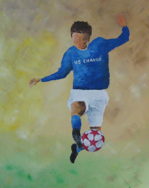 Le footballeur ( offert)