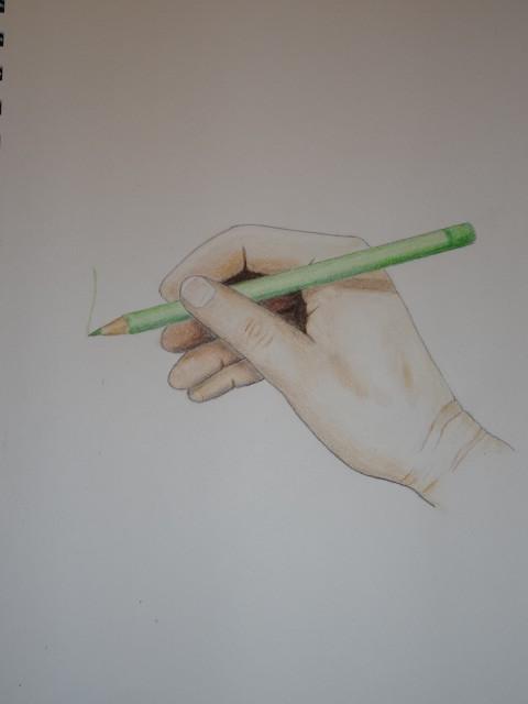Main crayon