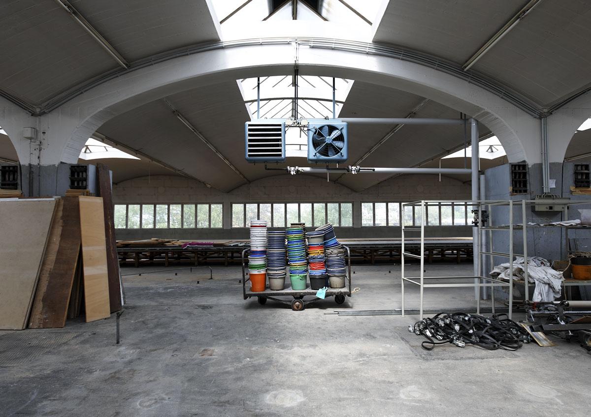 Tonnenhalle