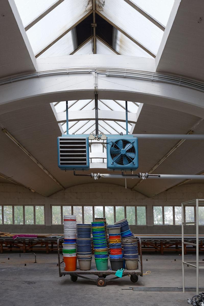 Die ehemalige Textildruckerei Pausa in Mössingen, drei Jahre nach der Stilllegung