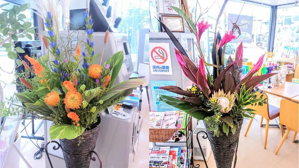 季節・状況に合ったお花を常設 3~50000円