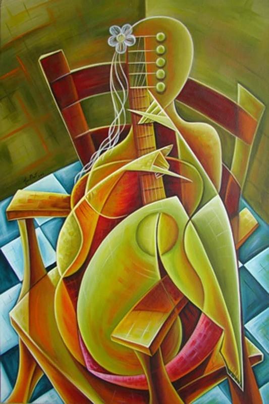 Javier Martinez - Женщина с гитарой
