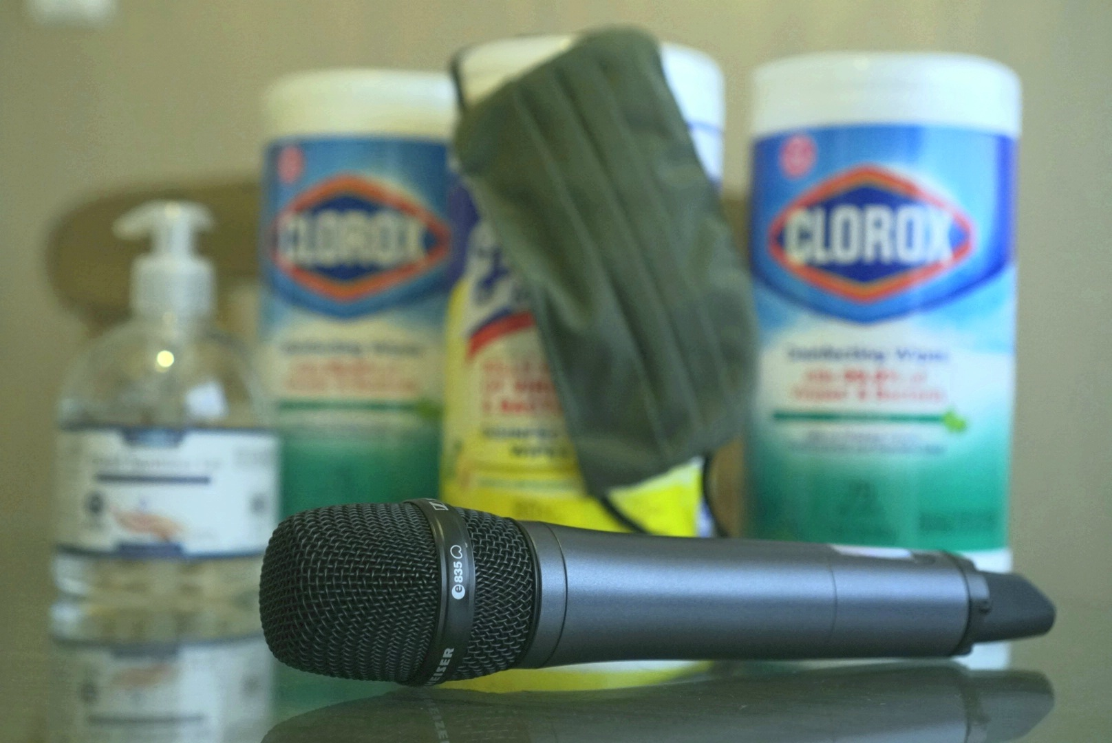 Microphone Hygiene During and After COVID19 Crisis