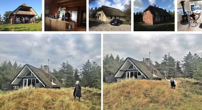 """Römö im November-Nebel: """"Little House on the Prairie."""" Die Anzahl meiner auf Römö angemieteten Ferienhäuser nähert sich der 100er Marke @FrejaLiv"""