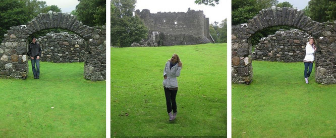 Dunstaffnage Castle...