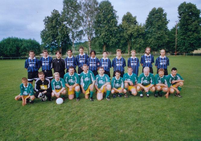 "One of five: one of 5 matches against ""Main-Kinzig-Gas"" (FC KNT B), this time in Gründau (Haingründau)..."