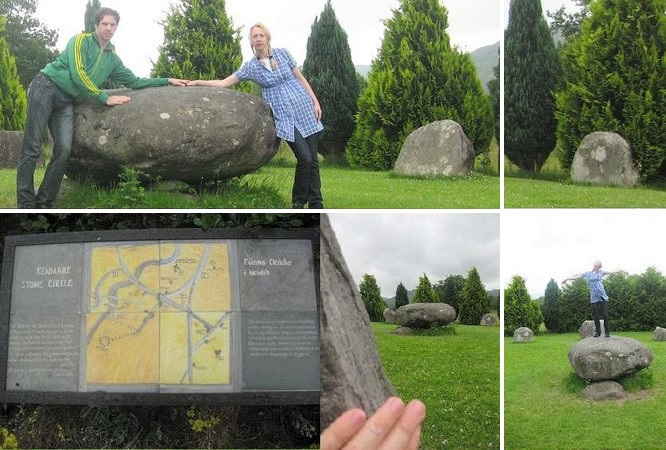 """One of the largest stone circles in south west Ireland: Kenmare Stone Circle."""