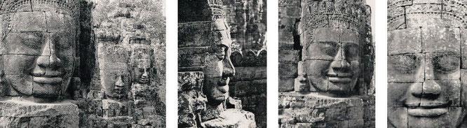 Angkor/Angkor Thom, Kambodscha (13° 26′ 0″ N, 103° 50′ 0″ E) - von Bangkok (Thailand) nach Battambang und von Siem Reap über Kampong Thom nach Phnom Penh...