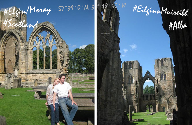 """""""Die größte Ex-Kathedrale Großbritanniens - Elgin Cathedral, Muray/Scotland."""""""