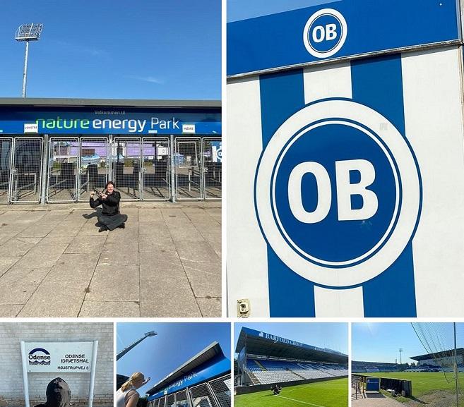 Nature Energy Park (EWII Park), Stadium of Odense BK, Odense, Denmark (55° 23′ 51.75″ N, 10° 21′ 59.77″ E)...