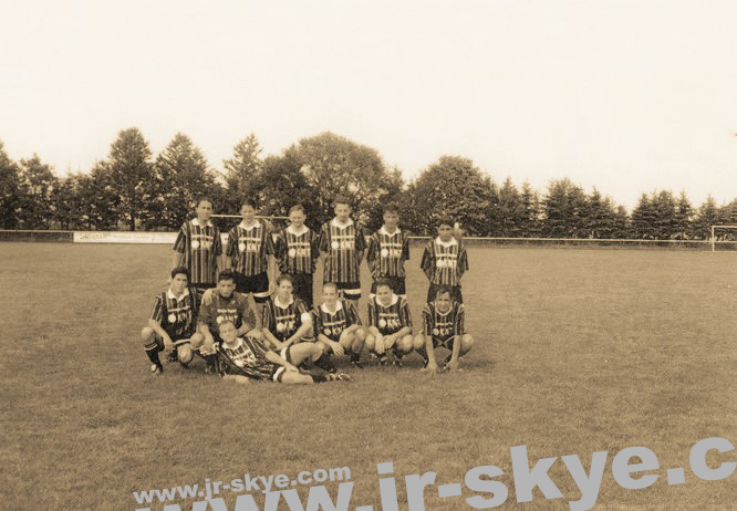 "My A-Team beat a Team from the ""Kreisliga"" 12:2 (4:1) near Frankfurt. I´m sitting, 3th from the left..."