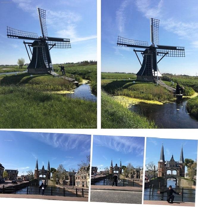 Windmühle Niederlande Windmill Workum Ybema´s Mole Reiseblog Nederland Netherlands Friesland Mühle Jörg Kaminski J.R. Skye