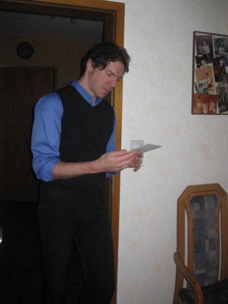 Niederschrift in G-Moll. Ich erinnere mich an das Manuskript. Danke für das Foto, G.!
