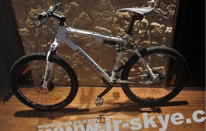 One of my bikes. You would like to take part in a day tour? You don´t own a bike? Try that! It´s free!