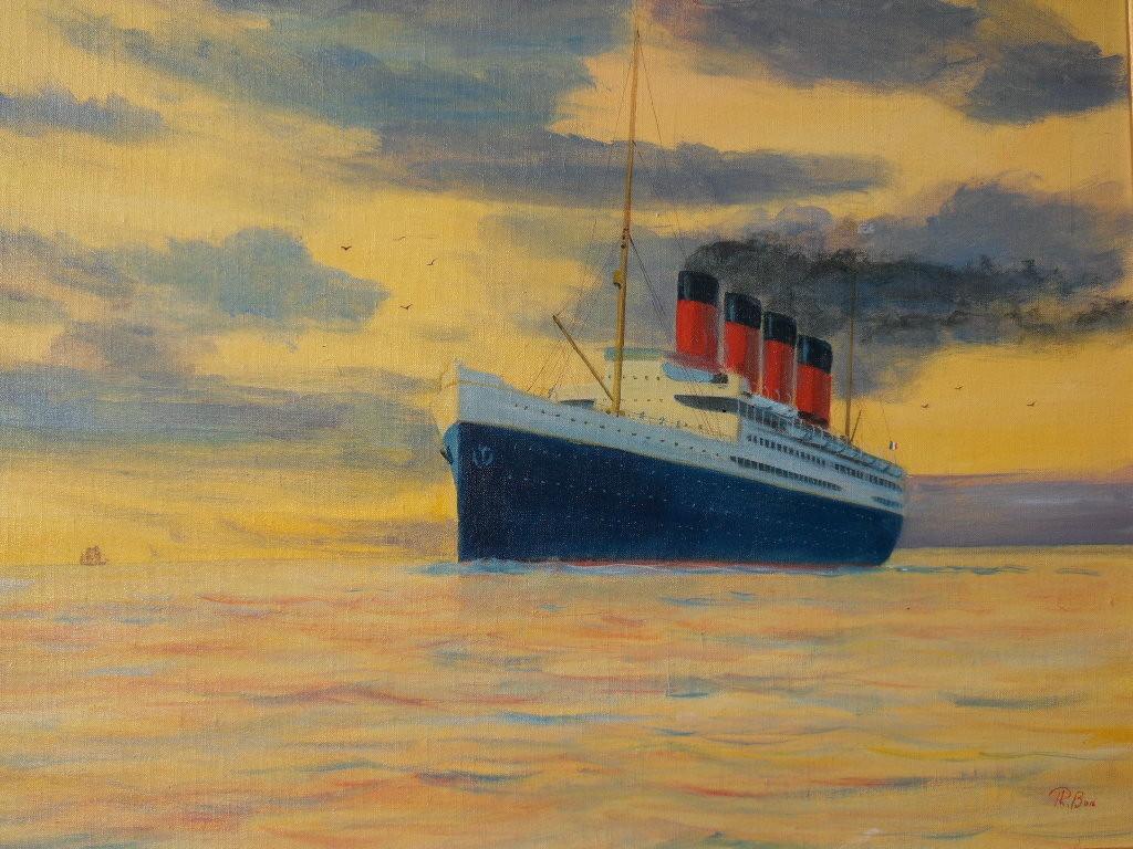 """FRANCE "" (1912) hst 46 x 61"