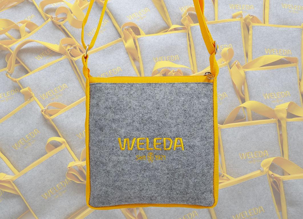 """Messe Taschen für die """"Weleda AG"""""""