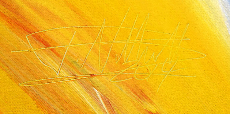 signature by the artist Peter Nottrott and year of creation : 2014