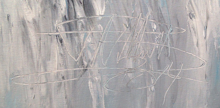 Signature of the artist Peter Nottrott and year of creation: 2014