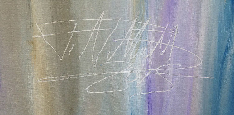 signature of the artist Peter Nottrott and year of creation: 2015