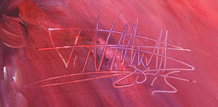 signature by the artist Peter Nottrott and year of creation : 2015