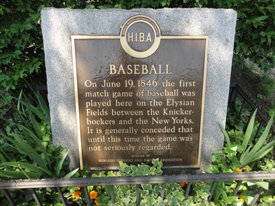 Baseball Monument - 11th & Washington Street