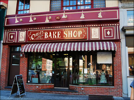 Carlos Bake Shop - Home of the Cake Boss - 95 Washington Street