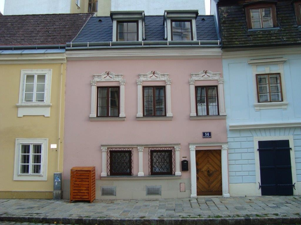 Altes Haus im Lichtental. 1090 Wien, Reznicekgasse 14