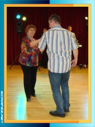 Brigitte mit Alex beim Boogie