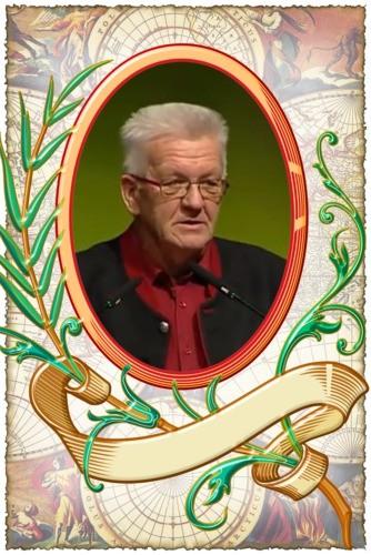 Winfried Kretschmann (* 17. Mai 1948 in Spaichingen) ist ein deutscher Politiker (Wikipedia)