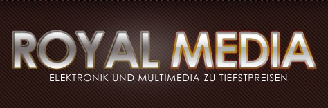 Printscreen von der Website 'Royal Media'