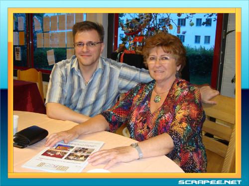 Brigitte mit Sohn Alex