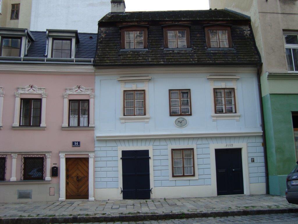 Altes Haus im Lichtental. 1090 Wien, Reznicekgasse 12