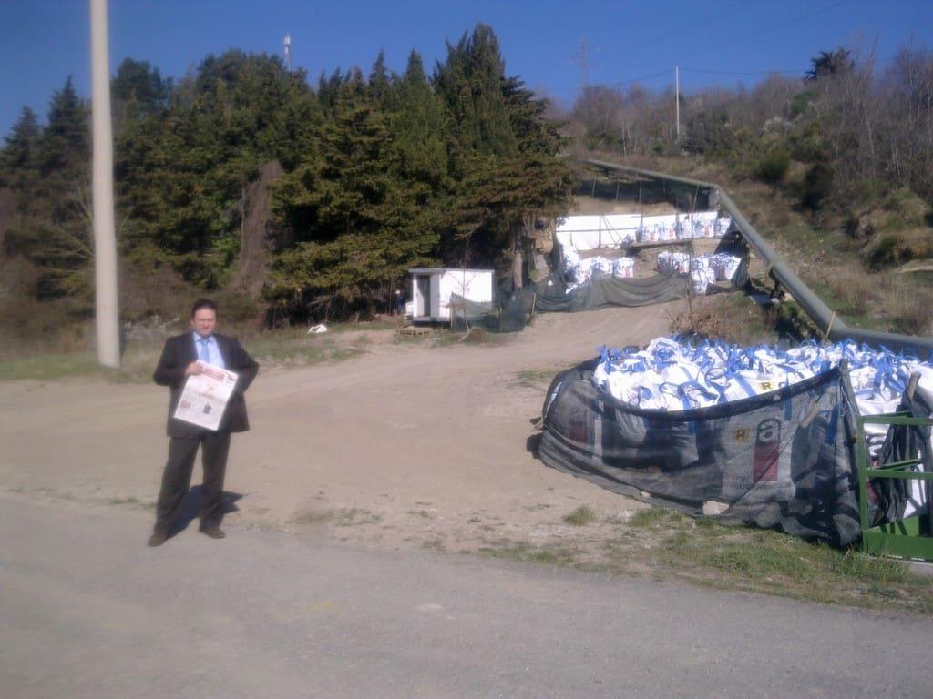 amianto Castelnuovo Val di Cecina
