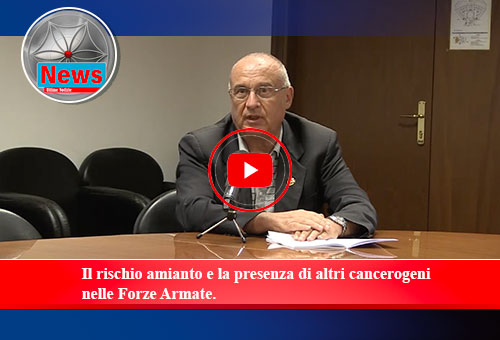 "Nicola Panei (ONA): amianto e patologie asbesto correlate in Aeronautica Militare"""