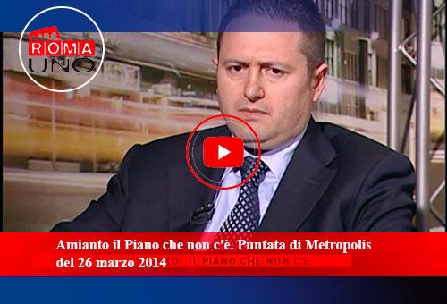 Metropolis Amianto il piano non c'è
