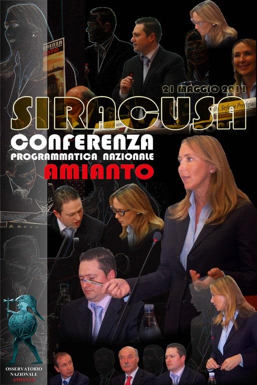 Conferenza programmatica nazionale amianto Siracusa