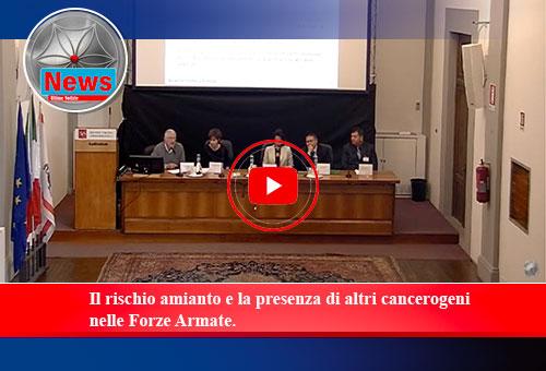 Il rischio amianto e la presenza di altri cancerogeni nelle Forze Armate.