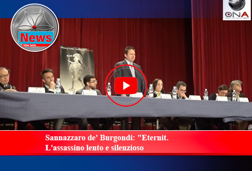 "Sannazzaro de' Burgondi: ""Eternit. L'assassino lento e silenzioso"