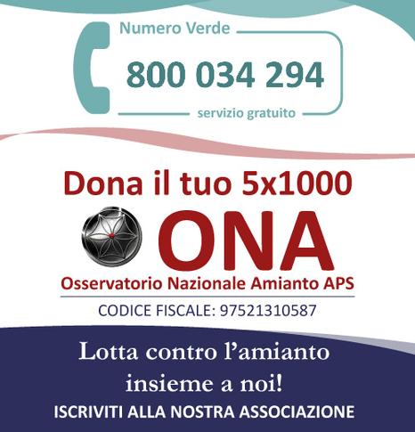 L'ONA E LA BONIFICA NELLE SCUOLE