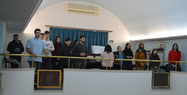 Tutti in coro per animare la santa Messa