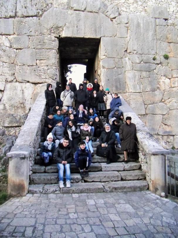 l'Acropoli e le sue mura ciclopiche