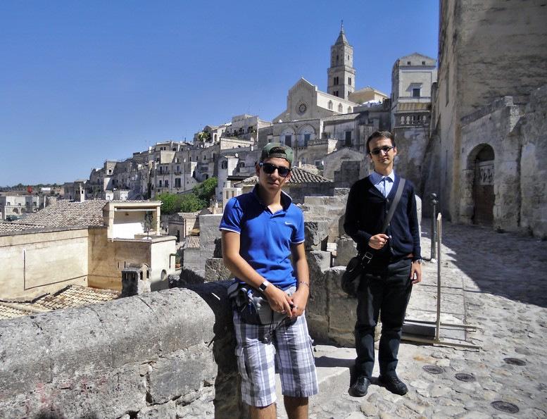 i sassi di Matera e la Cattedrale